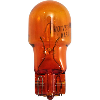 2 Wheeled Vehicle Wedge Bulb T13 12V, Single Bulb