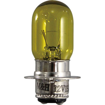 2 Wheeled Vehicle Head Bulb T19 12V, Double Bulb