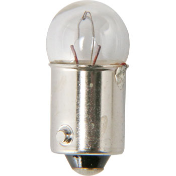 2 Wheeled Vehicle Bayonet Cap Bulb G10 12V, Single Bulb