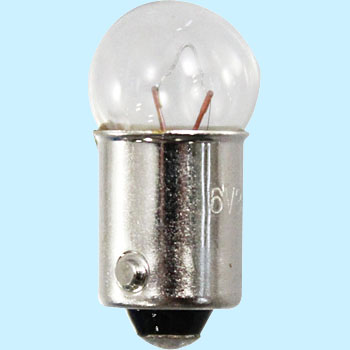 2 Wheeled Vehicle Bayonet Cap Bulb G10 6V, Single Bulb