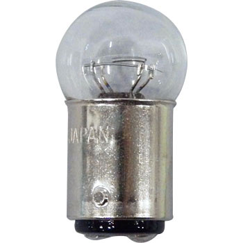 2 Wheeled Vehicle Bayonet Cap Bulb G18 12V, Double Bulb