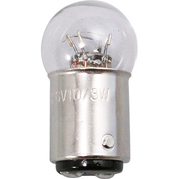 2 Wheeled Vehicle Bayonet Cap Bulb G18 6V, Double Bulb