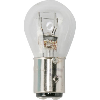 2 Wheeled Vehicle Bayonet Cap Bulb S25 6V, Double Bulb