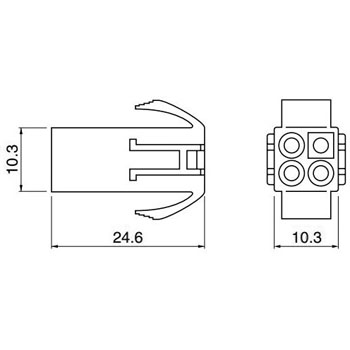 Relay Connection Connector, El Series Housing