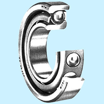 Combined angular contact ball bearings 7000 series DT