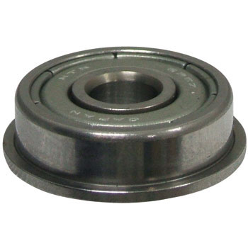 Miniature Ball Bearing And Small Deep Groove Ball Bearings Zz, With A Flange