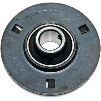 Steel plate round flange type unit