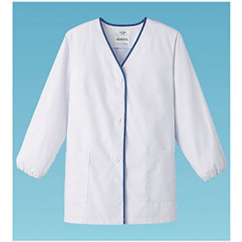 Lady's design White clothes long-sleeved