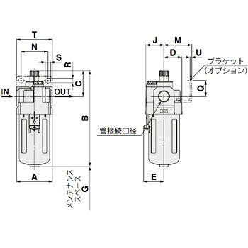 Lubricator, With Bracket
