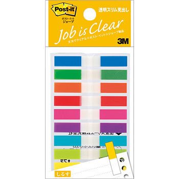 Post-It Job Transparent Slim