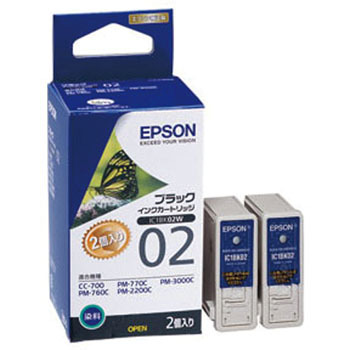 Ink Cartridge EPSON IC02, Genuine