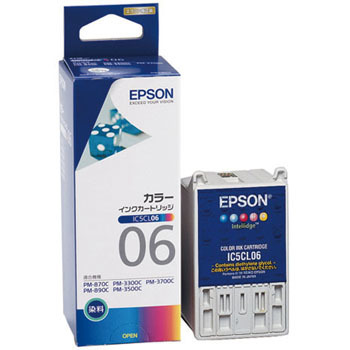 Ink Cartridge EPSON IC06, Genuine