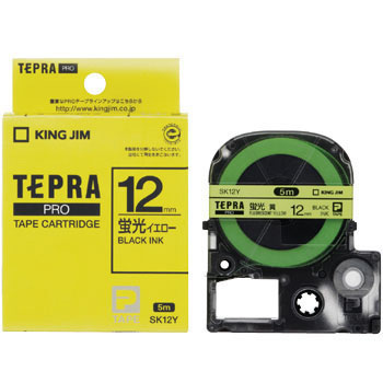 Tepra Pro Tape Color Labels, Fluorescent Color