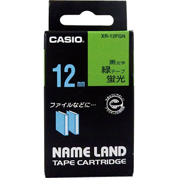 "Label Tape, ""Name Land"", Fluorescent Color Tape"
