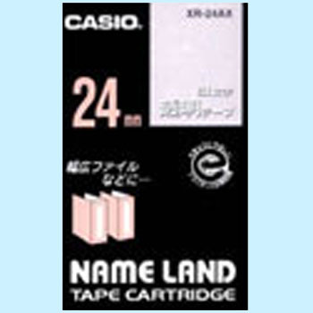 "Label Tape, ""Name Land"", Transparent Tape White Character"