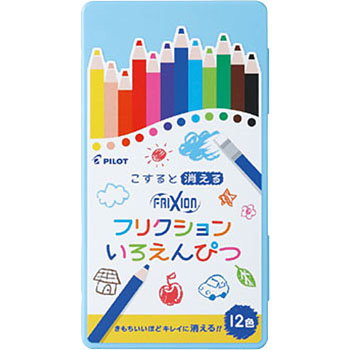 Friction Colored Pencils 12 color set