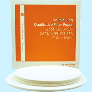 Double ring qualitative filter paper FAST101