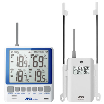 Wireless Multi Channel Thermohygrometer