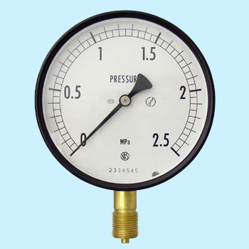 Standard Type Pressure Gauge Indoor, 100phi, General Use