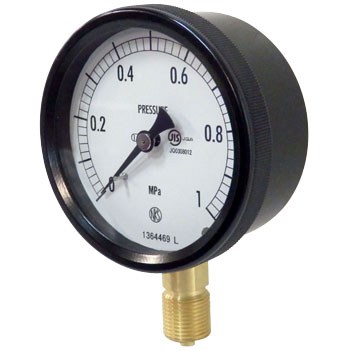 Sealed-type Pressure Gauge, Outdoor Type, 75Φ