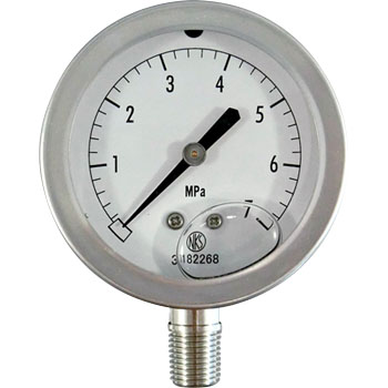 Glycerine Filled Pressure Gauge,