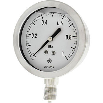 Pressure Gauge Including Glycerin