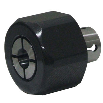 Collet with nut