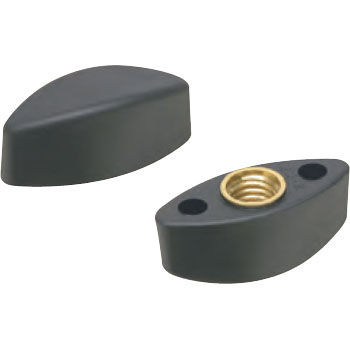 Plastic Locking Key Knob, Female Thread