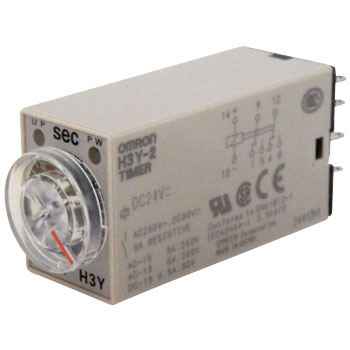 Solid-State Timer H3Y-2, DC Power Source