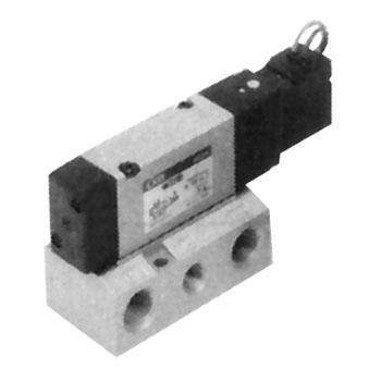 Pilot Type 5-Port Valve Selex Valve 4Kb3 Series