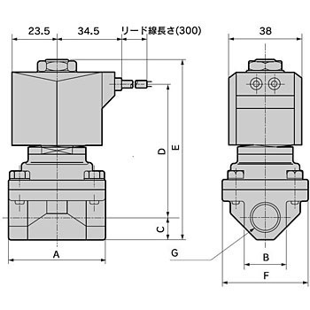 Pilot Kick Type 2 Port Solenoid Valve Closed Type Multi-Purpose Valve Apk11 Series