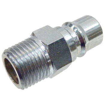 Hi Coupler Plug, Large Caliber, for Female Screw Install