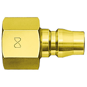 High Coupler Plug, For Male Thread Mounting)Brass Made