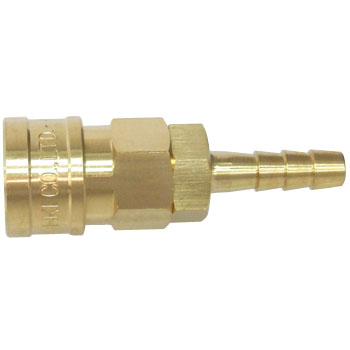 High Brass Coupler Socket, For Mounting Hose