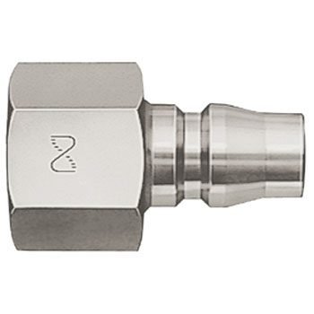Hi Coupler Plug, for Male Screw Install, Stainless Steel