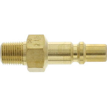 Mini Coupler Plug, Female Thread Mounting