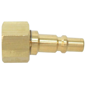 Mini coupler plug PF type (for blow pipe installation)