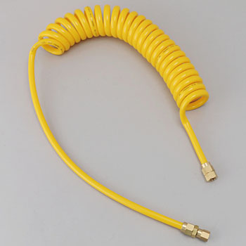 Spiral Air Hose Yellow Line Series
