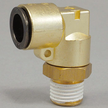 Touch Connector FUJI Male Elbow, Metal