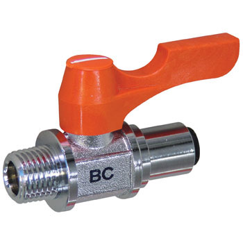 "Ball Valve, ""Ace Ball"", Straight Type One-Touch Connection Type"