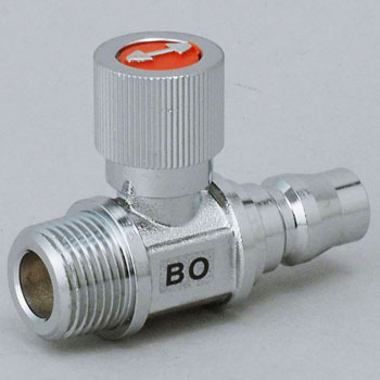 "Ball Valve, ""Ace Ball"", Straight Type The Kapler Socket Connection Type"