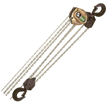 Hoistman Small Lightweight Chain Block, W/ Torque Functions