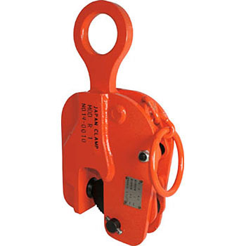 Vertical fishing special clamp (with safety lock)