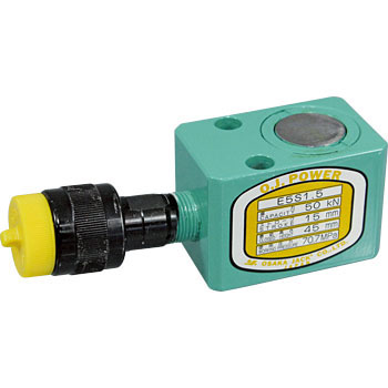 Oj Power Jack E Series, Single Acting TypeSpring Return Jack