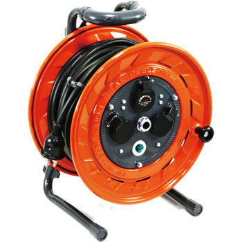3 Phase 200V Cord Reel Standard, Grounding