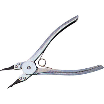 Pliers, straight type, with spring, internal use