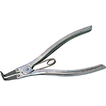 Pliers, bent nose type, with spring, external use