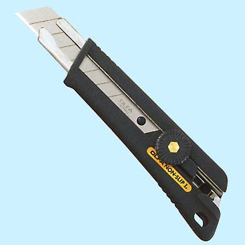 "Snap Off Knife, ""Non Slip L Type"""