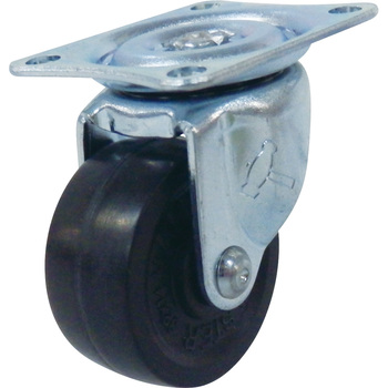 420G Swivel Caster, Rubber Wheel