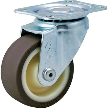 420S Swivel Caster, Nylon Wheel Urethane Rolling, With B, Wheel,